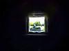 The Lawnmower Man (Steve Taylor (Photography)) Tags: uk greatbritain blue light england brown man black tree green art window strange digital square weird kent crazy unitedkingdom eerie spooky odd gb trunk mower mad hallplace lawnmover siton