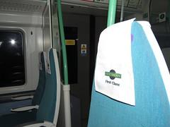Slightly Better (Deepgreen2009) Tags: uk train interior railway southern seats improved firstclass electrostar antimaccassar 377624
