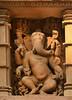 Shri Ganesh (Bhaskar Dutta) Tags: shri ganesh sculpture outdoor temple wall artistic stone carving khajuraho india lakshmana begining 1000ad old hisoric archaeological heritage