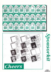 Hibernian vs Clydebank - 1989 - Page 27 (The Sky Strikers) Tags: hibernian hibs clydebank skol cup road to hampden easter matchday magazine one pound