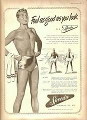 Speedo man (kevin63) Tags: lightner ad advertisement speedo swimmingtrunks man beach tight bulge