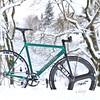 Showpocalypse in Portland, OR (a.dangerpdx) Tags: cannondale track icelandic green 93 95 1993 1995 portland oregon snow