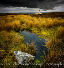 Scalpay Lighthouse (tomrichardson931) Tags: offthebeatentrack lighthouse outerhebrides rugged outdoor moors wildness eileanglas scenic scene wild alba desolate scottishislands moorland boggy remote scotland scottish uk europe scalpaylighthouse bog
