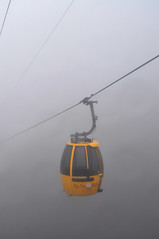 Out of the fog (Roving I) Tags: cablecars gondolas fog banahills themeparks tourism danang vietnam vertical engineering