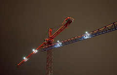 CRANE INTERVENTION HDR -55831-833- (Terry Frederic) Tags: canon5dmkiii crane hdr lightroom67processed night oregon photoshop portland sharpener2013 terryfrederic topazadjust5processed topazdenoiseprocessed usa