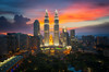 Twin tower (anekphoto) Tags: asia asian malaysia kuala lumpur skyline city towers twin petronas park night twilight business landmark klcc architecture famous district scene cityscape dusk sunset place view modern shopping tower kl travel background world sky downtown landscape town building oil high roof top blue office cafe hotel icon postcard urban capital kualalumpur