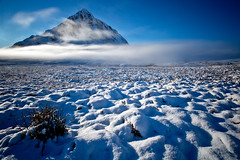 Buachaille Etive Mòr (GlasgowPhotoMan) Tags: buachailleetivemòr buachailleetivemor glencoe scotland lochaber rannochmoor snow mountains winter weather mist landscape canon canon5dmkiii