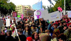 People Power , Speaking out for Human Rights (moonjazz) Tags: people democracy protest elections speech free freedom women speak political demonstration march trump gop voices message peace rights human reproductive assembly signs usa america men