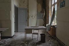 School's Out (Marian Smeets) Tags: schoolsout school urbex urbexexploring abandoned vervallen verlaten decay belgium belgie nikond750 mariansmeets 2016 classroom klaslokaal