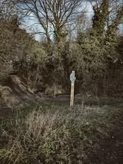 Marker (ancientlives) Tags: rushall rushallcanal walsall westmidlands england uk parklime nature reserve path park walking walkingthedog wednesday january 2017 winter signage signpost
