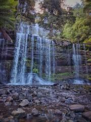 Russel Falls (Fritzvds) Tags: russelfalls waterfall tasmania