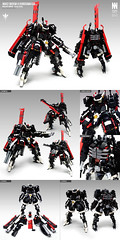 MARZ-QKRSW-K Kurosawa Kai (Messymaru) Tags: lego moc mech mecha robot レゴ レゴロボ メカ mechwars reframe original messymaru quiccs kurosawa ghost