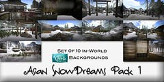 KaTink - Asian SnowDreams Pack 1 (Marit (Owner of KaTink)) Tags: annemaritjarvinen katink 60l my60lsecretsale secondlife sl slphotography 3dphotography poses 3dworldposes
