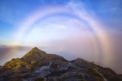 The Spectre (J McSporran) Tags: scotland trossachs benaan brockenspectre fogbow landscape canon6d ef1635mmf4lisusm