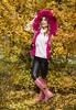 Y PASÓ EL OTOÑO (Pepa Morente ( 1.500.000 de VISITAS )) Tags: otoño mujer bella rubia color ocres rosa vertical guapa