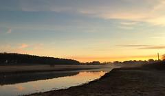 This morning...xx    (Explore 17/02/2017) (shona.2) Tags: iphone7plus eastlothian aberladybay scotland water mist foggy sunrise