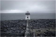 Black Head Lighthouse (EoinGardiner) Tags: clare galway bay ireland west wild atlantic way limestone burren paving stone rock geology landscape ship fisher lighthouse shipping