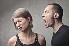 Screamin Man (altonroberts) Tags: quarrel anger couple woman girl man male litigate family boyfriend wife husband row despair problem marriage domestic cohabitation scream shout profile caucasian ear listen crazy sadness sad