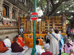 "PB140681-a (photozaki) Tags: india ""sujata kuti"" ""mahabohi temple"" ""mahabodhi mahavihara temple ""buddhist buddha buddhism ""bodhi tree"" bodhgaya gaya buddhist monk monks ashoka enlightenment ""vajrasan diamond throne"""