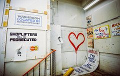 Empty Hearts (Viv Lynch) Tags: canada ontario toronto travel downtown urban art bloorstreet festival honesteds anhonestfarewell gentrification amazement installationart memories interactiveart sculpture