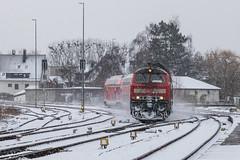 DB 218 427 met Dosto's, Friedrichshafen Stadt