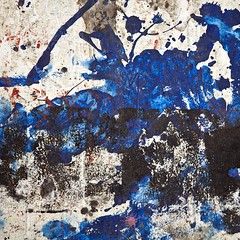Pandémie (Gerard Hermand) Tags: 1609304711 gerardhermand france paris canon eos5dmarkii formatcarré malakoff laréserve bois wood abstrait abstract abstraction tache spot peinture paint bleu blue