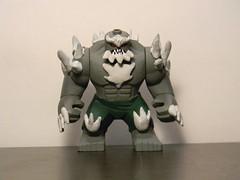 The Ultimate Killing Machine (Strike U) Tags: lego superman doomsday custom death return