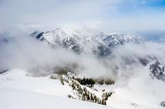 Snow storm on Rendezvous Mountain (Paladin27) Tags: mountain mountains grandtetons grandtetonnationalpark grandtetonnps snow snowstorm summit peak wyoming jacksonhole