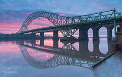 Bridge Sunset (PG_Pix) Tags: runcorn widnes mersey sunset