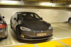Tesla Model S - Germany, Tübingen (Helvetics_VS) Tags: licenseplate germany tuebingen