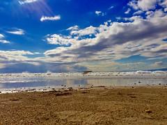 beach (hamapenguin) Tags: apple iphone sea ocean beach 海 kanagawa kamakura 鎌倉