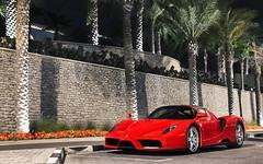 Enzo. (Alex Penfold) Tags: ferrari enzo supercars supercar super car cars autos alex penfold 2017 dubai uae red jumeirah beach road