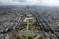The View From The Top! (crashcalloway) Tags: paris france eiffeltower montparnassetower city skyline view viewfromthetop champdemars