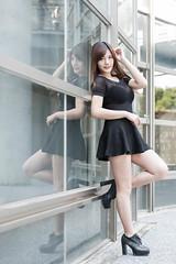 DSC_5496 (錢龍) Tags: 陳葳 d700 美術館 nikon 外拍 美胸 beauty girl sexy