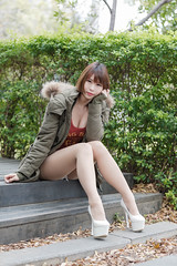 DSC_5565 (錢龍) Tags: 希維亞 小希 文創園區 外拍 beauty sexy nikon d700 girl 短髮