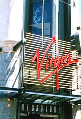 img402 Virgin Megastore - logo only (main entrance) (kalihikahuna74 (OkinawaKhan808)) Tags: unitedstates us stateside san francisco sanfrancisco california america thebay bayarea fixed trip vacation august 1997 1990s 90s analog predigital camera scan scaned old school oldschool pointandshoot pointandshootcamera unitedstatesofamerica