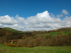 In the Dane Valley, walking towards Gradbach