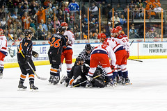 "Missouri Mavericks vs. Allen Americans, March 10, 2017, Silverstein Eye Centers Arena, Independence, Missouri.  Photo: © John Howe / Howe Creative Photography, all rights reserved 2017 • <a style=""font-size:0.8em;"" href=""http://www.flickr.com/photos/134016632@N02/33023732030/"" target=""_blank"">View on Flickr</a>"