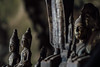 Buddha Faces, Pak Ou Caves, Luang Prabang Laos (AdamCohn) Tags: 055kmtobanpakouinlouangphabanglaos banpakou buddha buddhism buddhist laos louangphabang mekongriver pakou pakoucaves geo:lat=20051486 geo:lon=102217647 geotagged