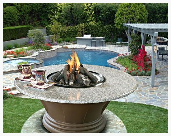California Outdoor Concepts San Simeon Firepit