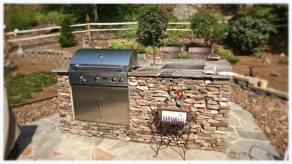 Custom Outdoor Kitchen, Chattanooga, Tn.