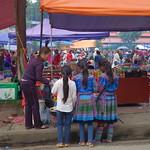 Auf dem Markt von Bac Ha