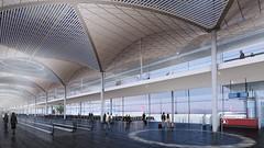 Проект нового аэропорта в Стамбуле от Grimshaw
