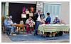 L'atelier de la paille (iveka19) Tags: people france straw craft fair tresse elderly corrèze limousin paille panier artisanat cabas shopingbag
