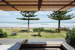Пляжный дом от Irving Smith Jack Architects в Новой Зеландии