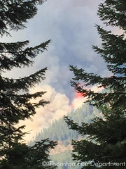 August 21, 2015 - Thornton Fire Department crews work the TeePee Springs Fire in Idaho. (Thornton Fire Department)