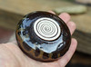 Small bowl in Tenmoku glaze (semi.ivan) Tags: ceramics handmade bowl pottery basalt stoneware ston tenmoku