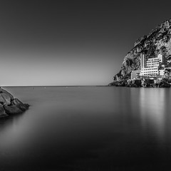It Is Not : Love Is All We Need... but... All We Give... (sebistaen) Tags: longexposure sea white black flickr wave squareformat gibraltar sbastien caleta lemercier catalanbay canoneos7dmarkii sebistaen breakthroughphotography x3neutraldensity10stop