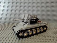 Lego panzerjger I (ausf. B) (italianww2builder) Tags: war tank destroyer german ww2 custom panzer brickologist