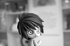 L at the museum (the Northlings) Tags: death note figure l nendoroid